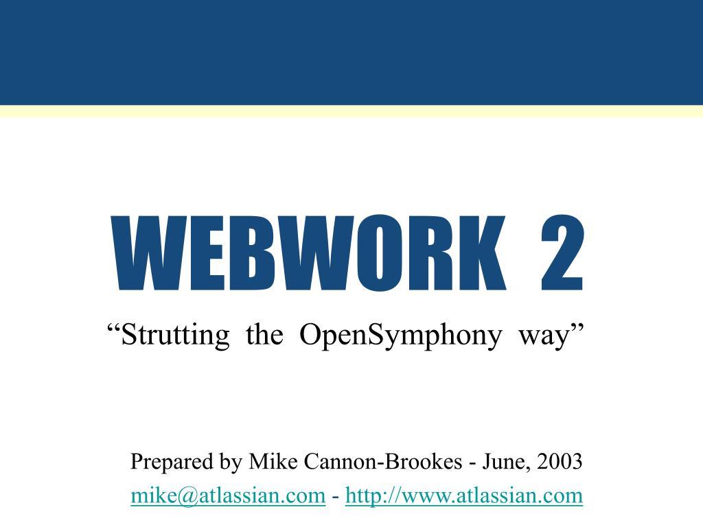 webwork 2 l.