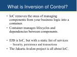 what is inversion of control