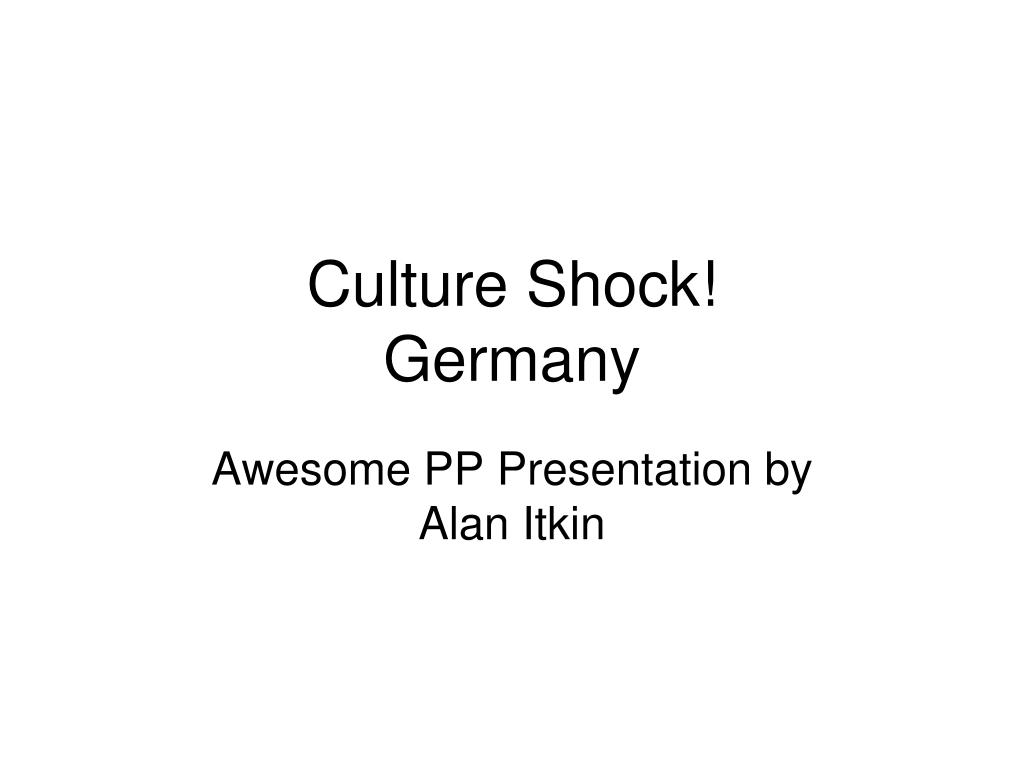 culture shock germany l.