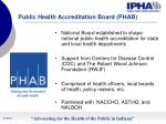 public health accreditation board phab