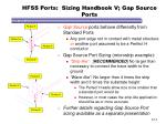 hfss ports sizing handbook v gap source ports