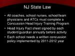 nj state law