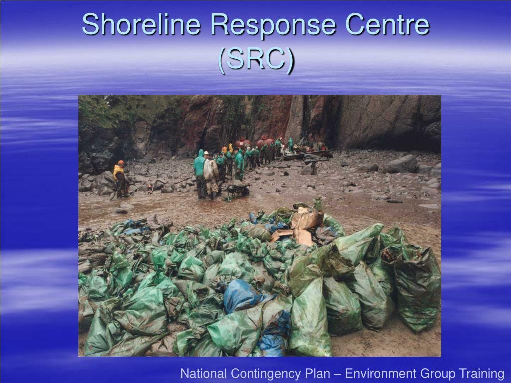 shoreline response centre src l.