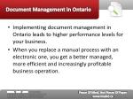 document management in ontario13