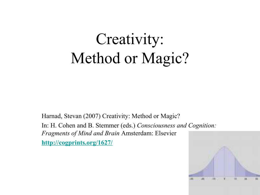 creativity method or magic l.