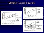 method 2 overall results