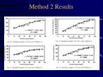 method 2 results