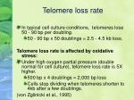 telomere loss rate15