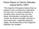 police report on gentry attitudes toward serfs 1857
