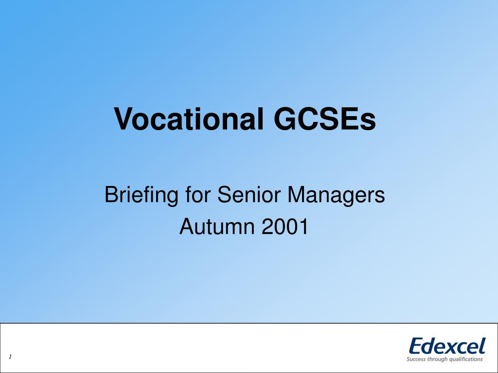 vocational gcses l.