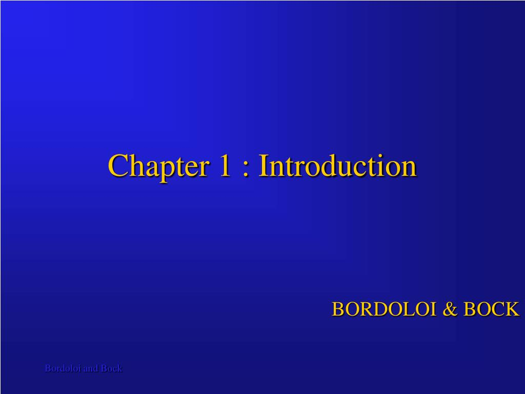 chapter 1 introduction l.