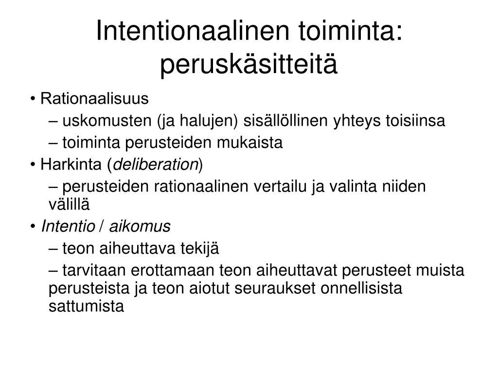 Intentionaalinen