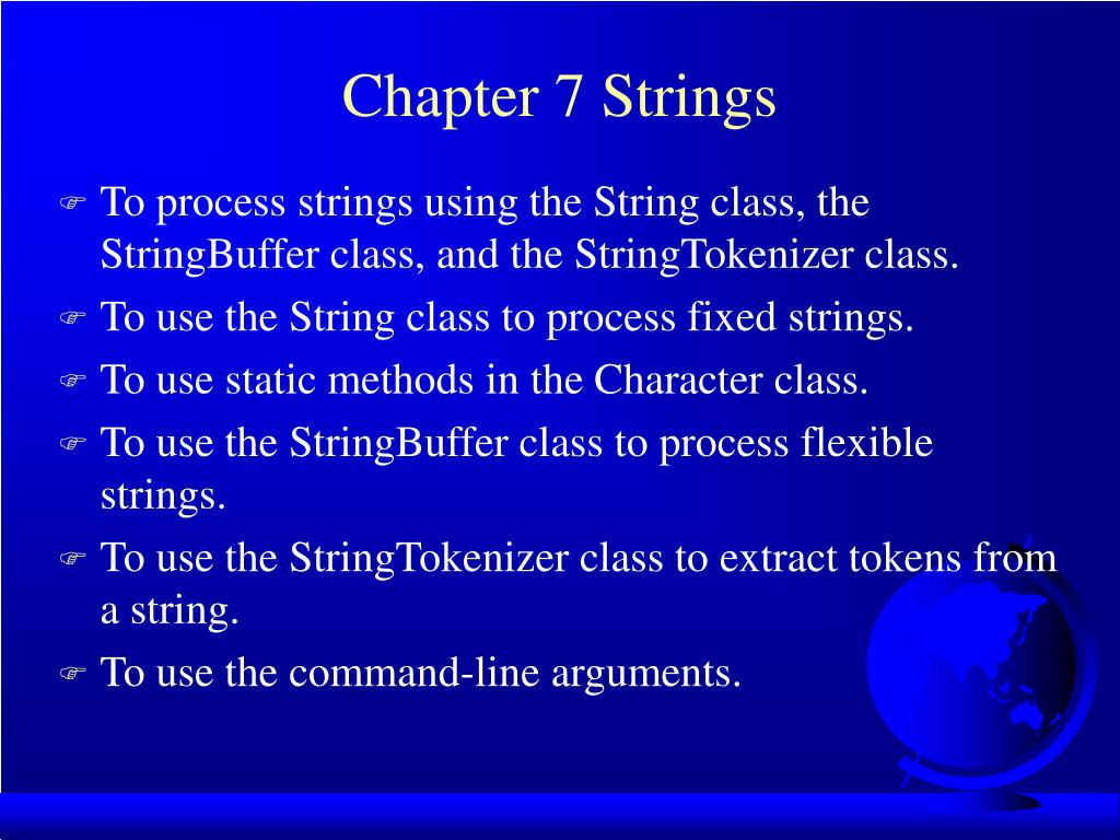 chapter 7 strings l.