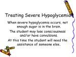treating severe hypoglycemia