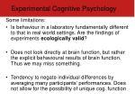 experimental cognitive psychology2