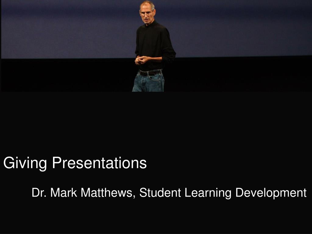 giving presentations l.