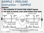 sample preload instruction sample