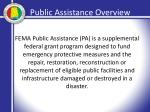 public assistance overview