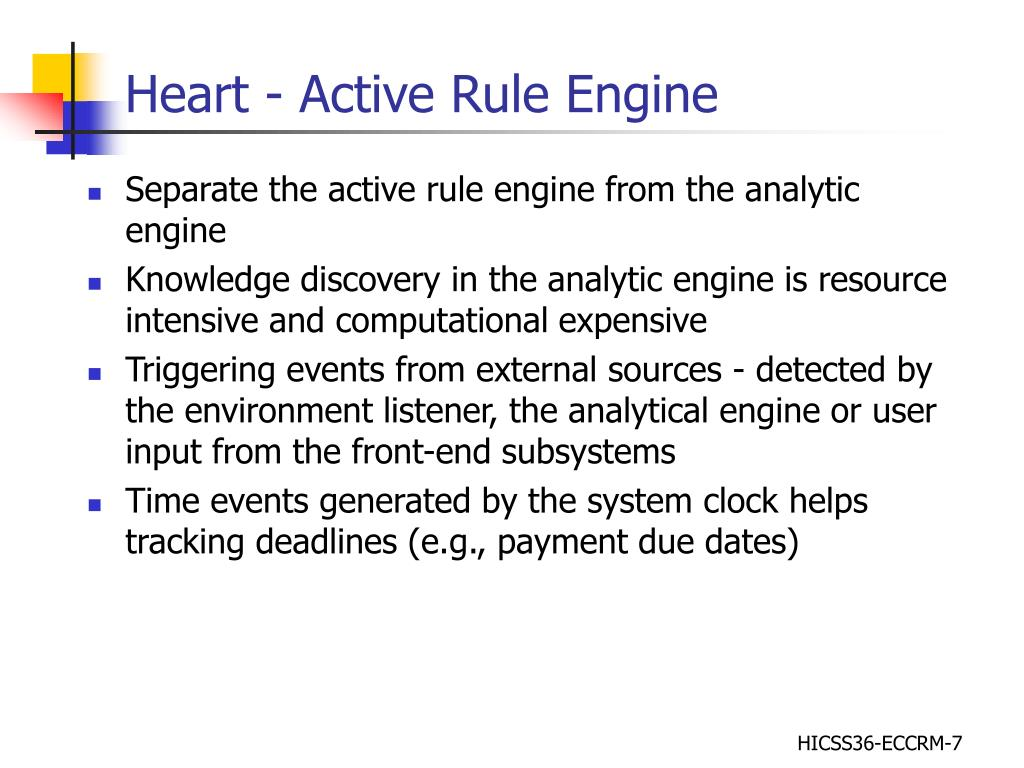 Heart - Active Rule Engine
