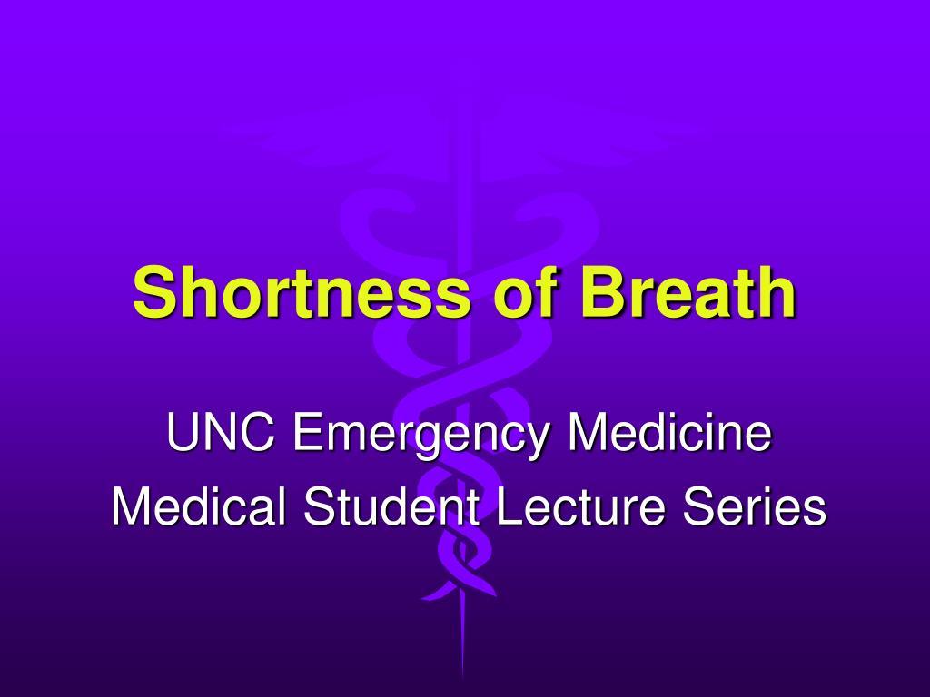 shortness of breath l.