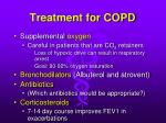 treatment for copd