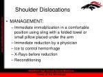 shoulder dislocations35