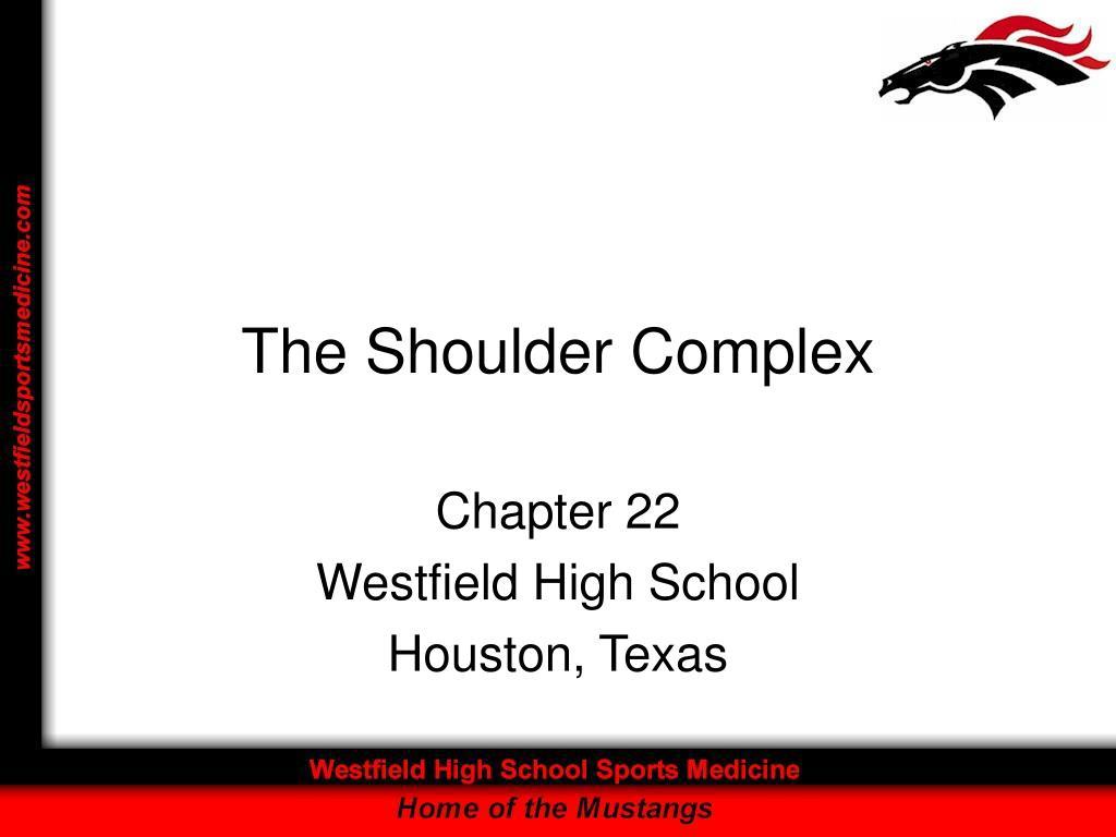 the shoulder complex l.