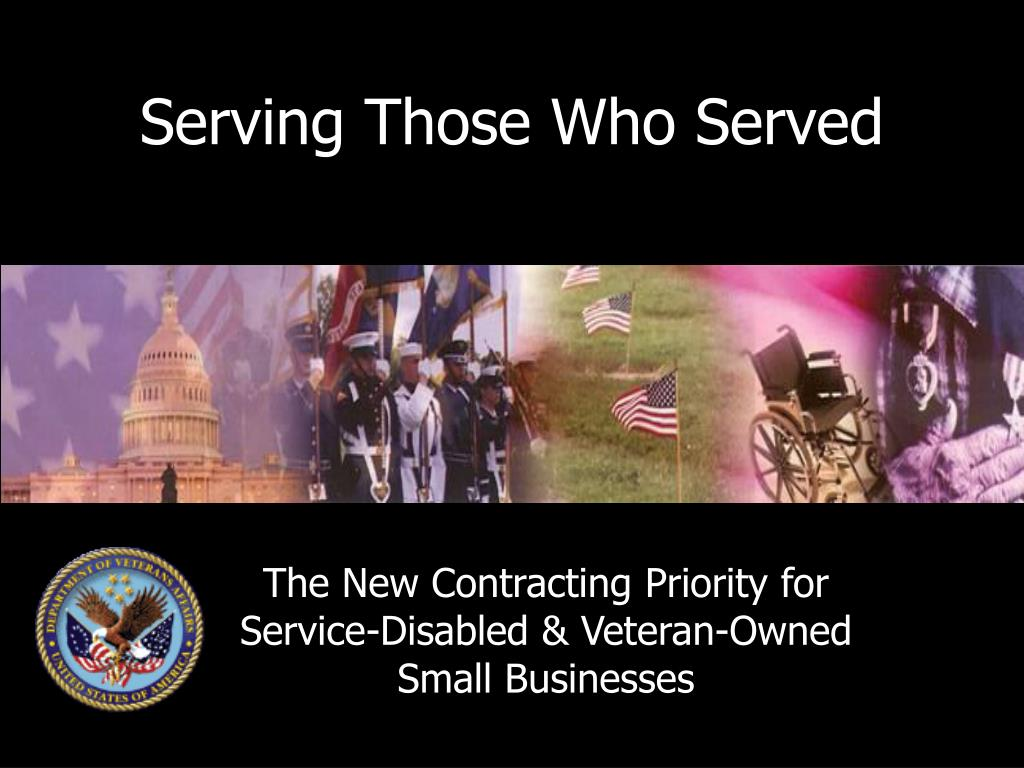 serving those who served l.