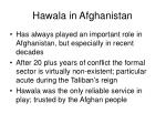 hawala in afghanistan