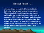 special needs i