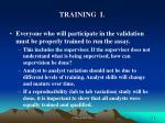training i