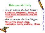 behavior activity24