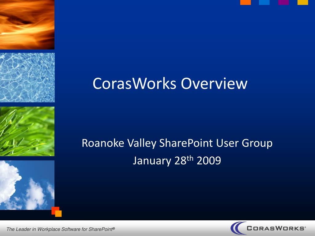 corasworks overview l.