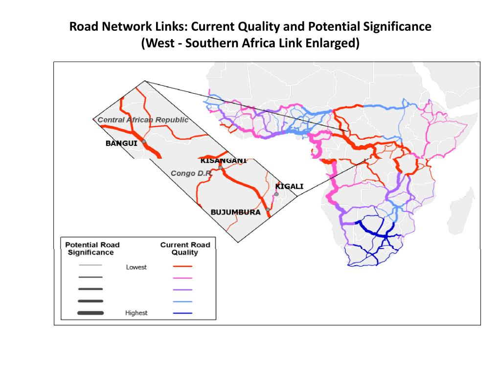 Road Network Links: Current Quality and Potential Significance