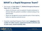 what is a rapid response team