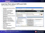 learning more about wps and wid ibm education assistant