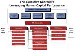 the executive scorecard leveraging human capital performance