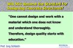 will scc become the standard for designing concrete structures