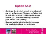 option a1 2