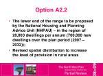 option a2 2