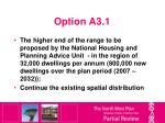 option a3 1