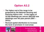 option a3 2
