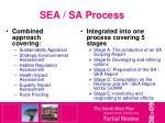 sea sa process