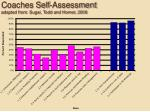 coaches self assessment adapted from sugai todd and horner 2006