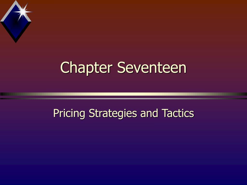 chapter seventeen l.