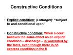 constructive conditions7