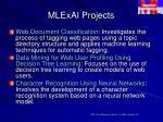 mlexai projects