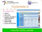 functionality ii