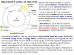 niels bohr s model of the atom