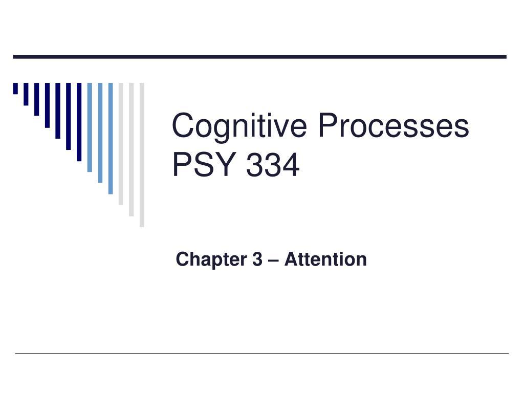 cognitive processes psy 334 l.